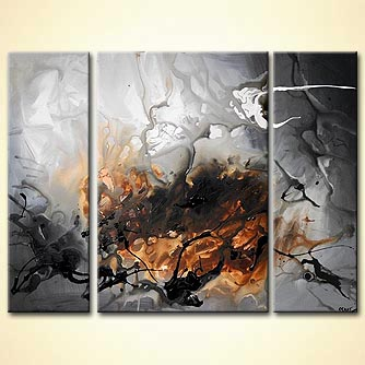 Abstract painting - Magalen Clouds