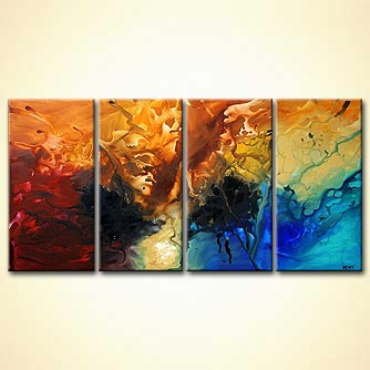 Abstract painting - I am Here