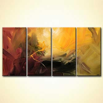 Abstract painting - The Clue