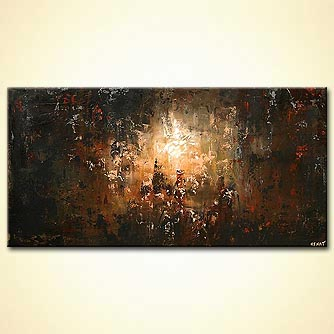 Cityscape painting - The Lost City
