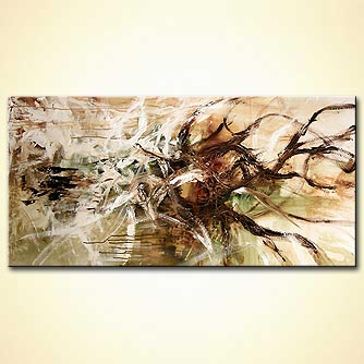 Abstract painting - Tree of Life