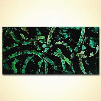 Abstract painting - True Lies