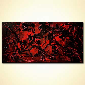 Abstract painting - Red