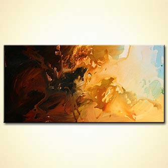 Abstract painting - Sun of Helioscope