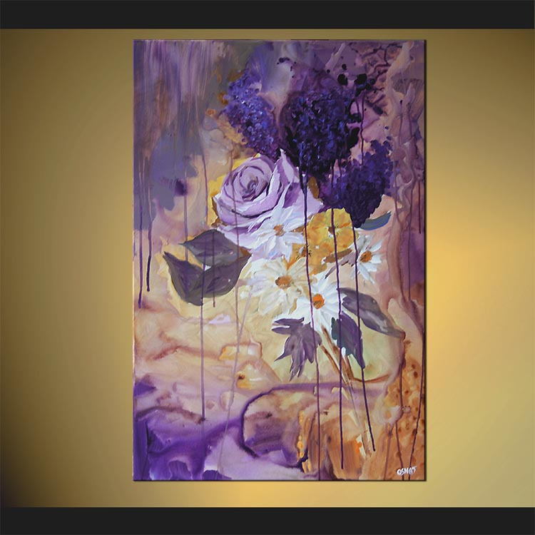Buy Abstract Landscape Painting Home Decor Flower 4873