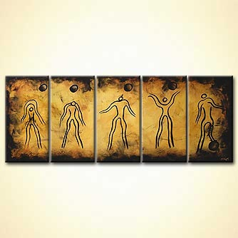 modern abstract art - Evolution