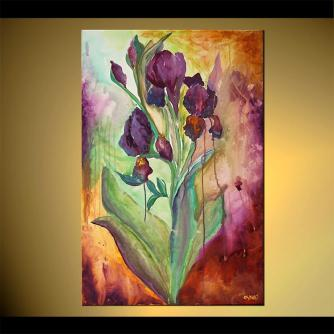 Floral painting - Surrounded by Beauty