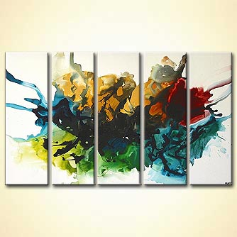 modern abstract art - Color me