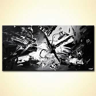 Abstract painting - Star Wars