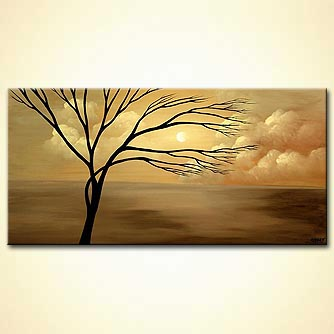 Landscape painting - Tranquility