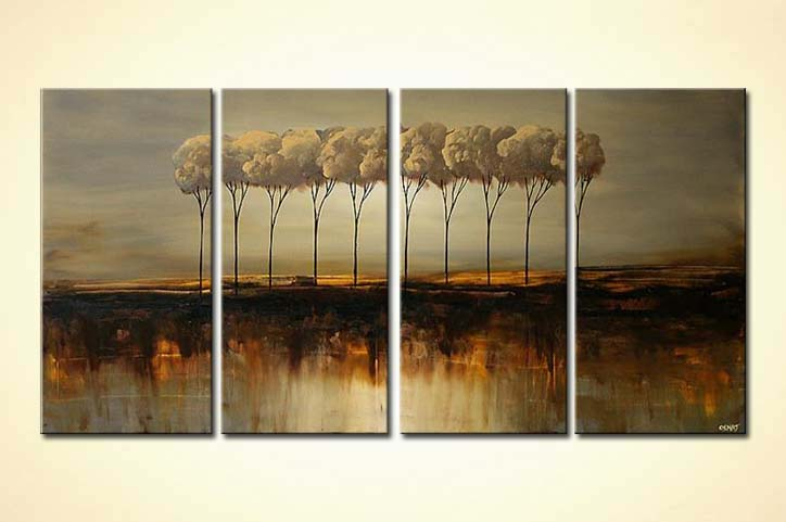 modern abstract art - Nature in Harmony