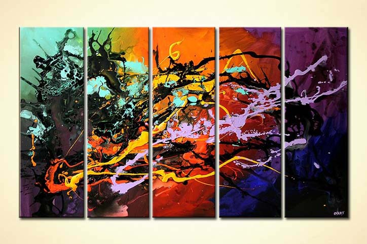 Hand Painted Canvas Prints