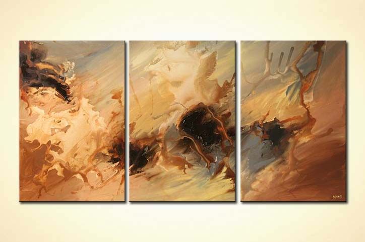 Painting For Sale Triptych Abstract Contemporary