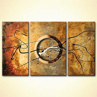 Abstract painting - The Code