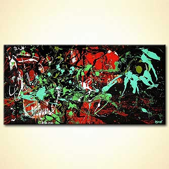 Abstract painting - Starwars