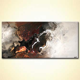 Abstract painting - Soft Surroundings