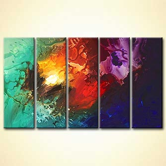 Abstract painting - Garik-s Place