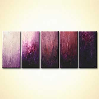 Abstract painting - My Violet