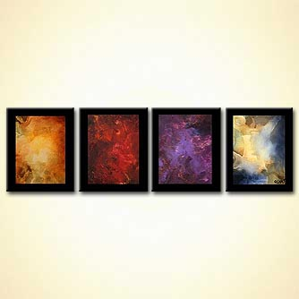 modern abstract art - The Four Planets