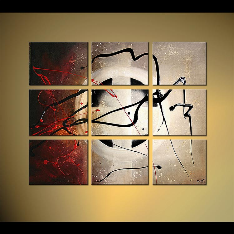 Painting For Sale Multi Panel Abstract Painting Home Decor