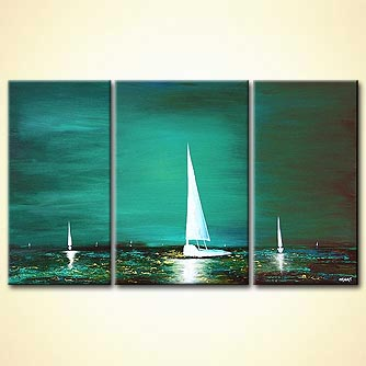 Seascape painting - God-s Property