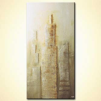 modern abstract art - Skyscrapers