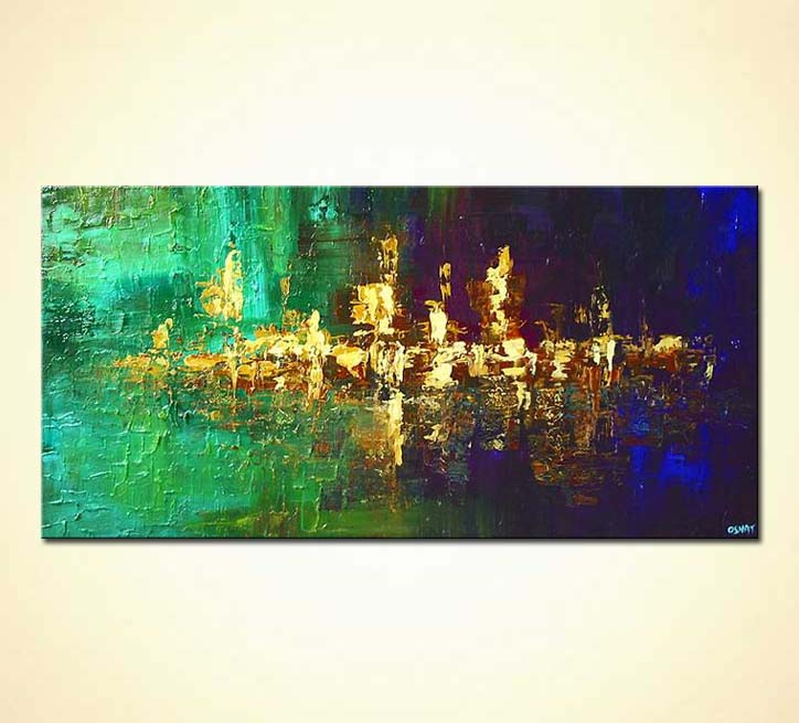 Abstract Painting 5248 By The River S