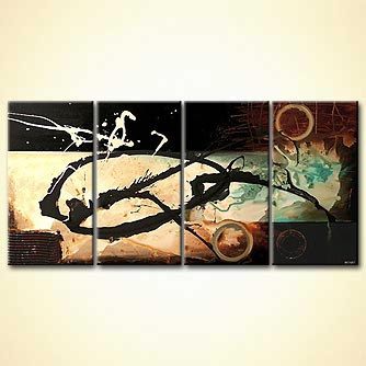Abstract painting - Zoro
