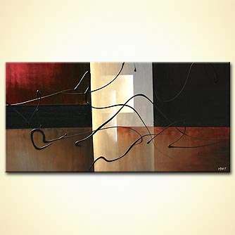 modern abstract art - Eclipse