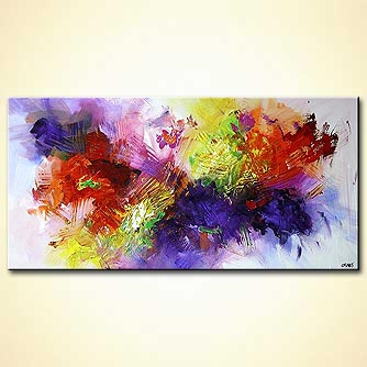 Abstract painting - Color on My Wall