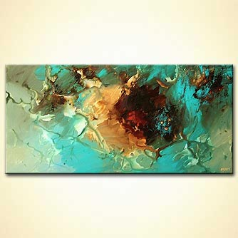 Abstract painting - Three Rivers
