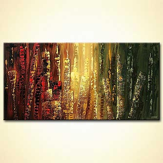 Abstract painting - Avenue Road