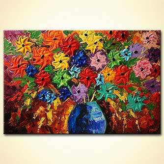 Floral painting - Lovely