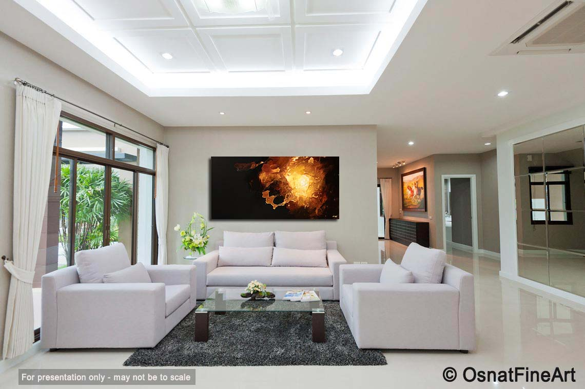 Modern artwork thumbnailAbstract painting   dark living room painting home decor start  5367. Living Room Paintings. Home Design Ideas