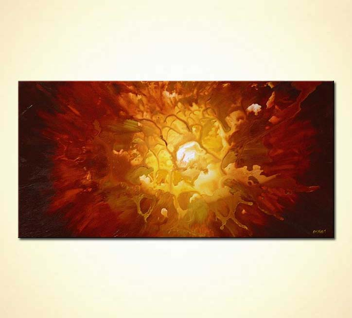 Sun Over Landscape Paintings On Canvas