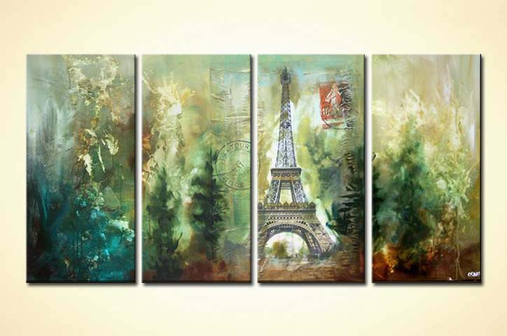 modern abstract art - From Paris with Love