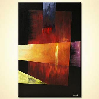 Abstract painting - The Gift