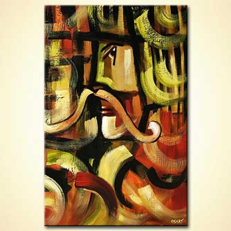 modern abstract art - Salute to Salvador Dali