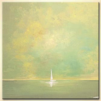 Seascape painting - Embracing Nature