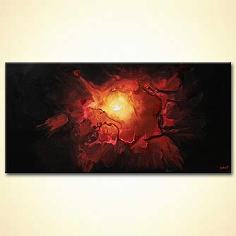 Abstract painting - Energy