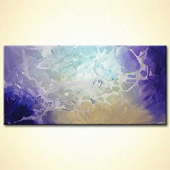 Abstract painting - Yes-yes-yes