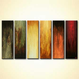 Abstract painting - Six