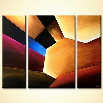 rays of light modern painting home decor