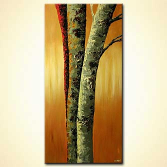 Landscape painting - Enchanted Forest