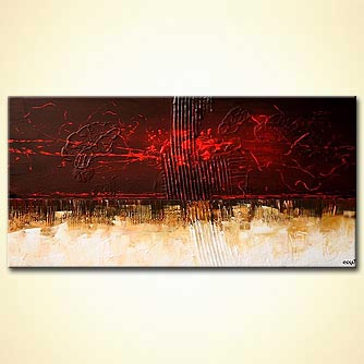 Abstract painting - Life on Mars