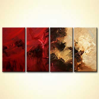 Abstract painting - Dune Kings of Mars