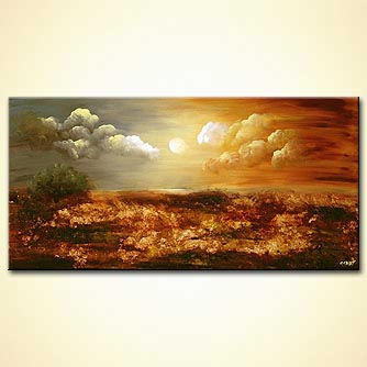 Landscape painting - Earth