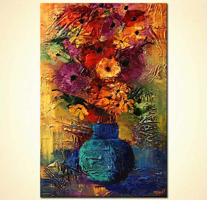 Original Abstract Modern Textured Oil Paintings by LanaGuise