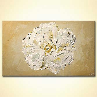 Floral painting - The Snow Flower