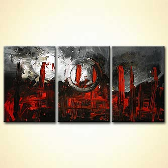 Abstract painting - The Firm